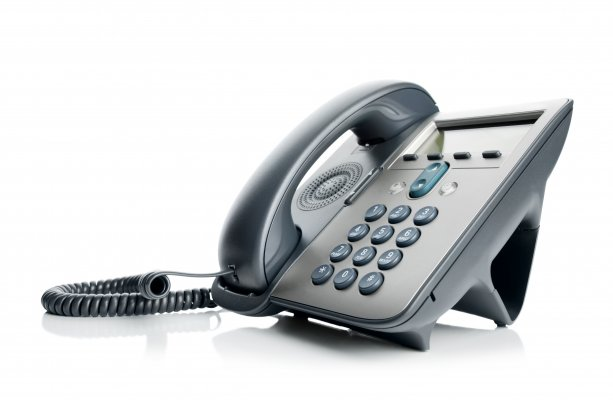 small business voip services voip gray phone white background