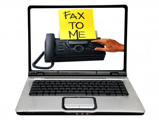 best online fax service ringcentral laptop yellow fax to me fax page fax machine image on display