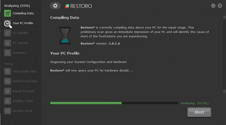restoro system optimizers restoro screenshot