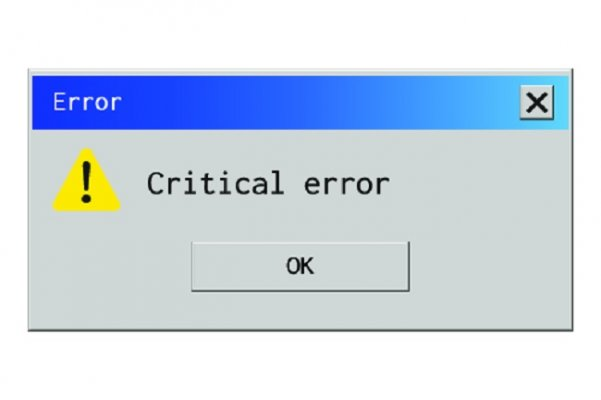 critical error window system optimizers advanced system repair