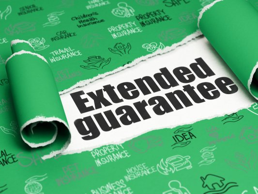 USAA extended car warranty service extended car warranty on green paper