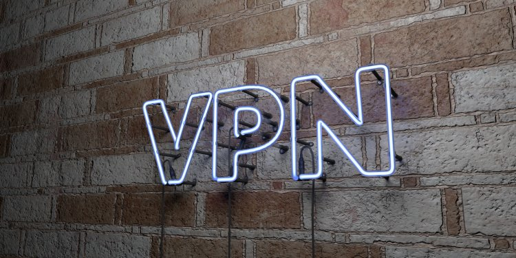 Hotspot Shield VPN cost vpn service pricing vpn in neon light written on wall