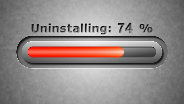 restoro system optimizers uninstall bar 74%