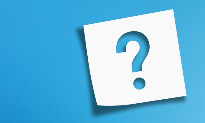 restoro software system optimizers blue question mark on white paper blue background