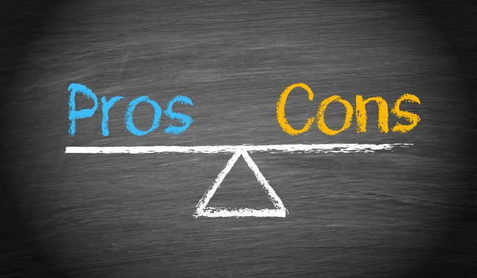restoro system optimizers advantages pros and cons drawing on blackboard with chalk