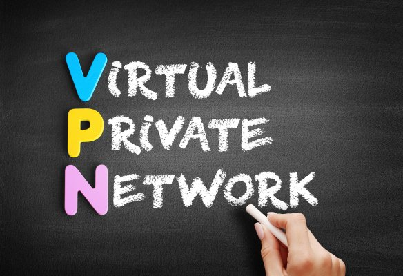surfshark vpn service features virtual private network written on black board with chalk