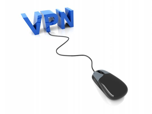turbovpn features vpn services blue vpn sign black wired mouse connected to vpn sign white background