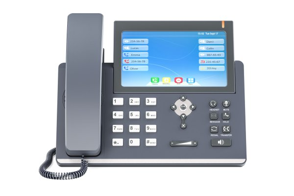 voip services axvoice voip phone on white background