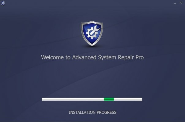 system optimizers advanced system repair pro screenshot with installation process