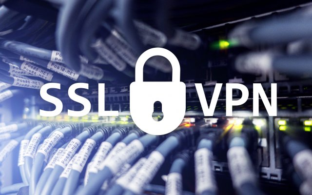 ssl vpn server cables wires connection lock vpn services