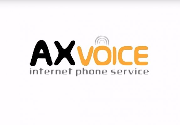 axvoice voip service plans packages axvoice internet phone service logo white background