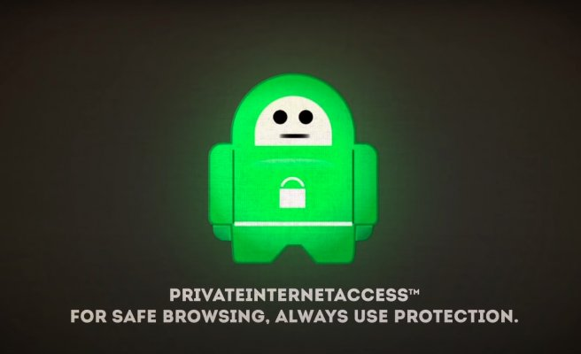 Private Internet Access vpn in depth review green logo black background