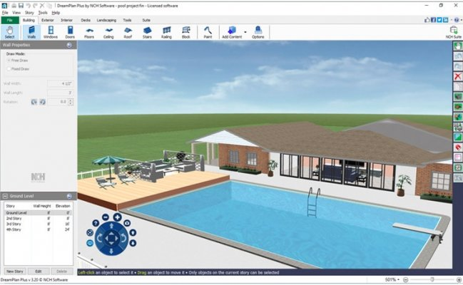 dreamplan home design software screenshot
