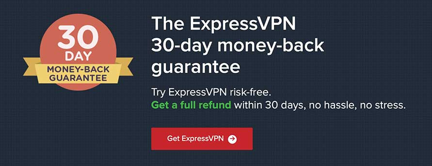 ExpressVpn 30 day money back