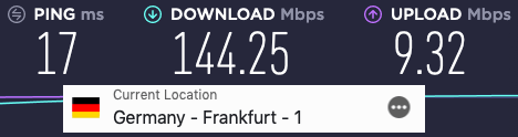Expressvpn-speed-germany