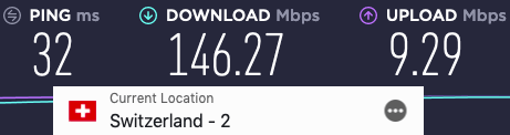 expressvpn-speedtest-switzerland