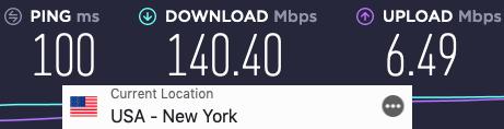 expressvpn-speedtest-usa-newyork