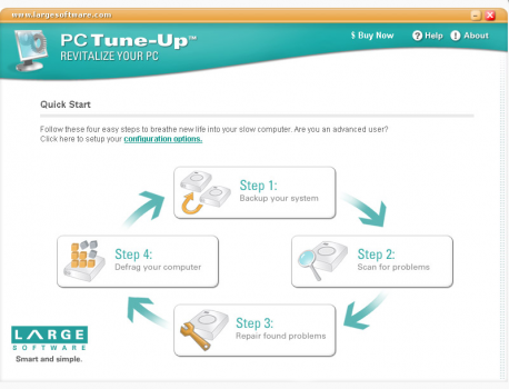 PC Tune-Up registry cleaners screenshot