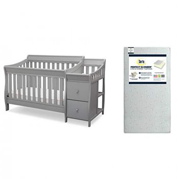 Pieces to delta crib package
