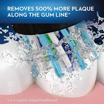 Oral-B 6000 removing Plaque from teeth