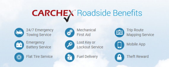 carchex extended car warranty features roadside benefits
