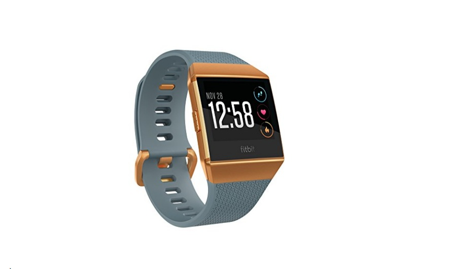 Fitbit Ionic smartwatch gray orange